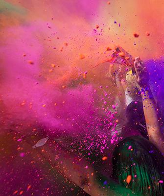 Farbe bringt Spaß