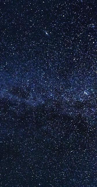 Leuchtfarbe – ein glitzernder Sternenhimmel