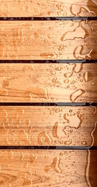 Malerarbeiten für Holzbauteile